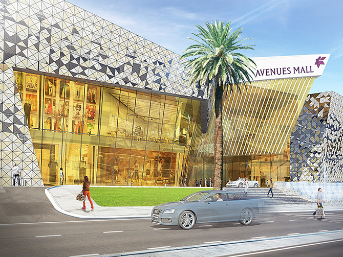 Avenues mall sharjah on schedule to open in 2018 sharjah for Hispano international decor llc abu dhabi