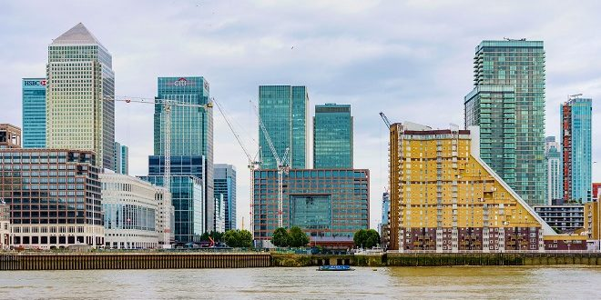 London financial district, Canary Wharf