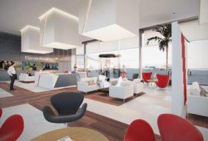 Sharjah FBO concept - VIP interior