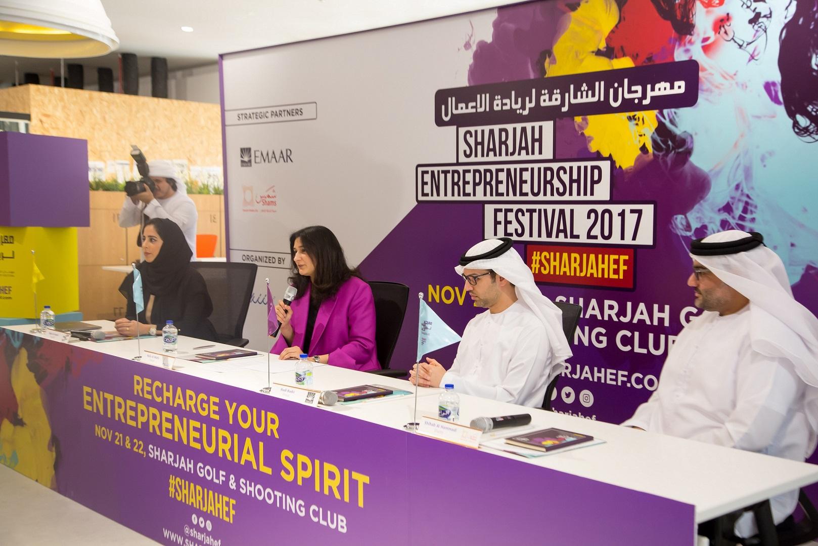 Sharjah to host largest Entrepreneurship Festival in the UAE
