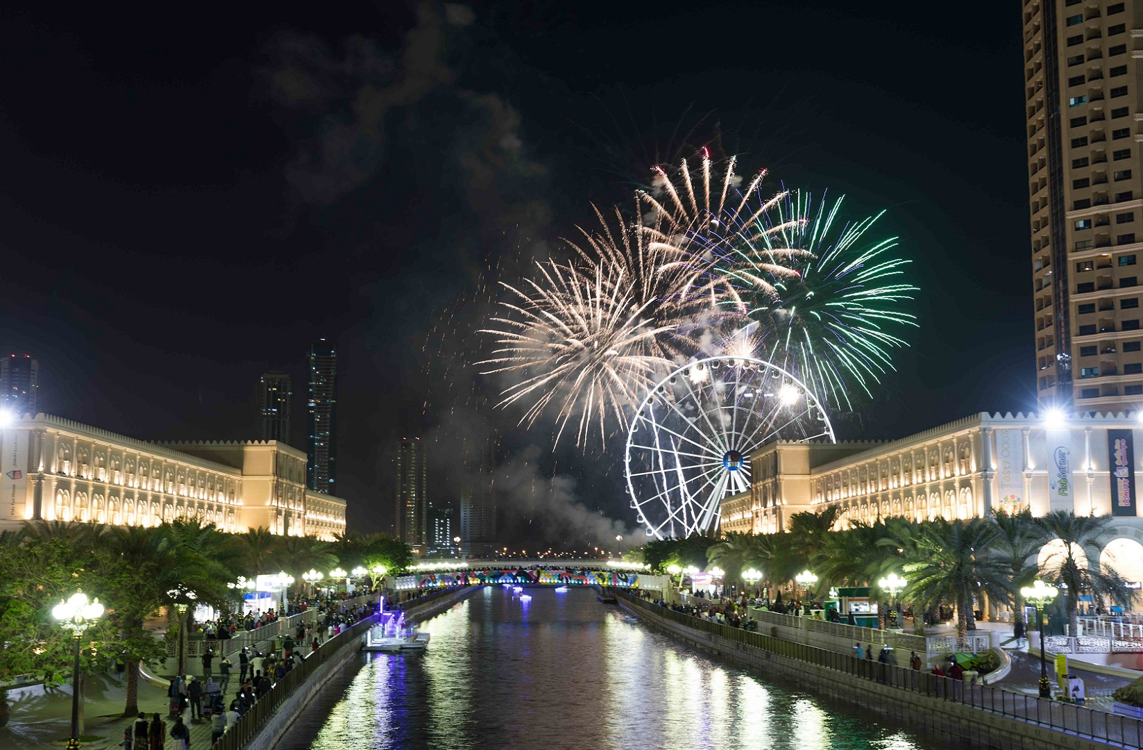 New Year's Eve 2018 in Sharjah in pictures