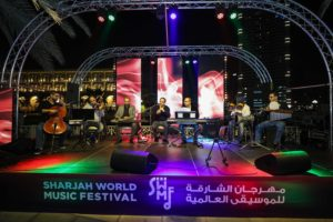 Sharjah World Music Festival 2018 - Bassam Abdelsattar and his band 'Colors'
