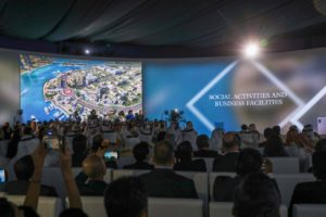 Eagle Hills, Sharjah Investment and Development Authority launch event