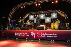 Sharjah World Music Festival 2018 - Ukrainian singer Olesia and the Gossu Band